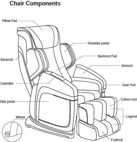 massage chair fj 4600b cyber relax